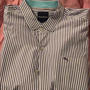 100% cotton Tommy Bahama button up